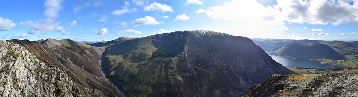 The Coledale Horseshoe from Whiteside
