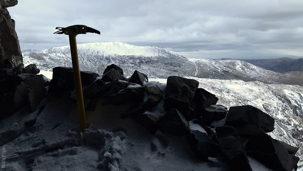 Winter wild camp in the Priest Hole Cave