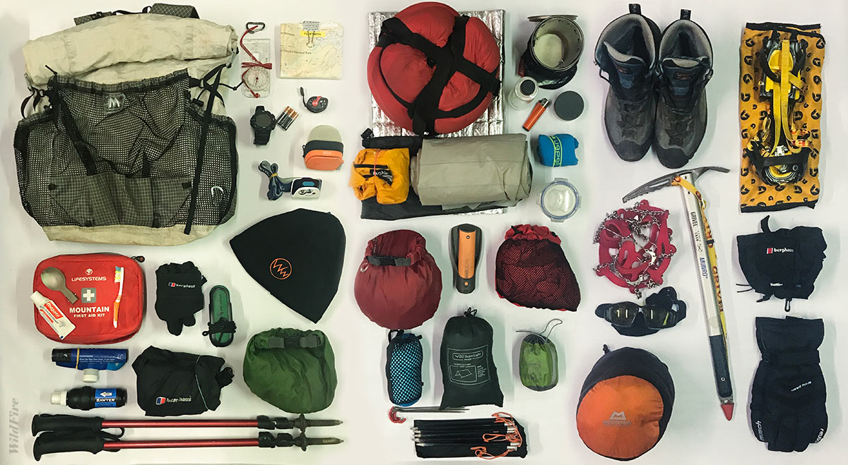 Winter wild camping kit list