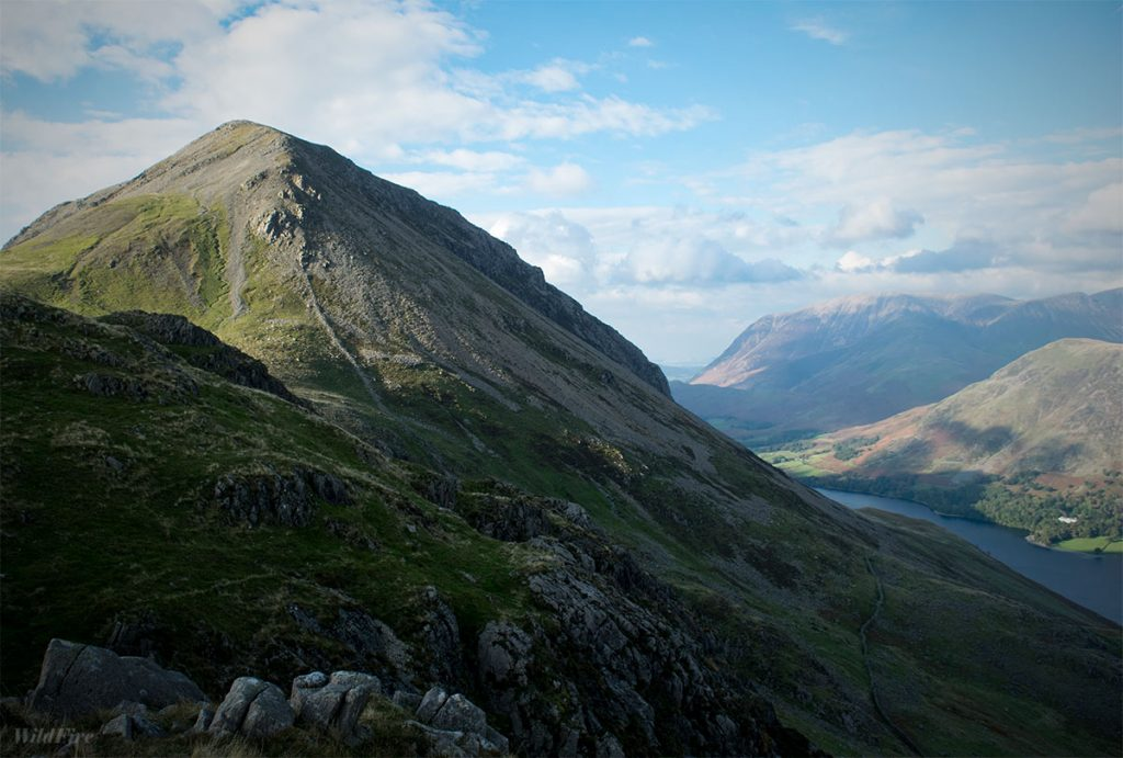 High Crag and Crummock Water