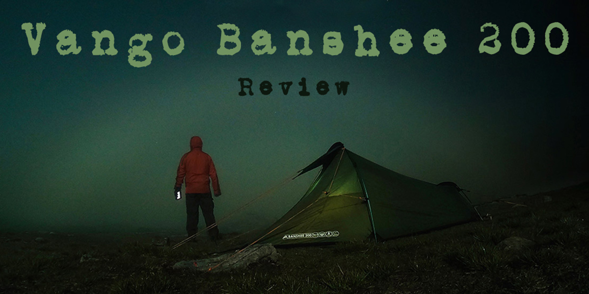 Vango Banshee 200 - Wild camping on Ingleborough