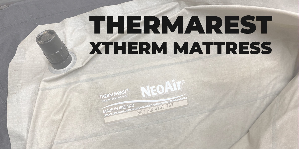 Thermarest Neoair Xtherm mattress cover