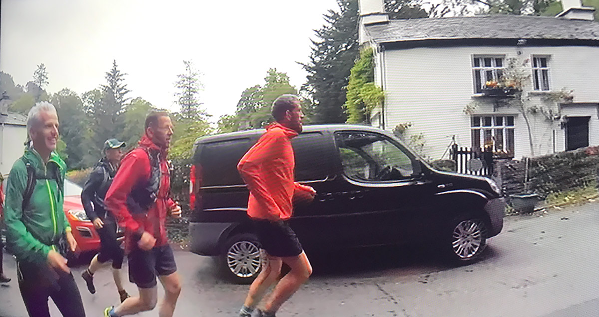 Paul Tierney Running The Wainwrights Record