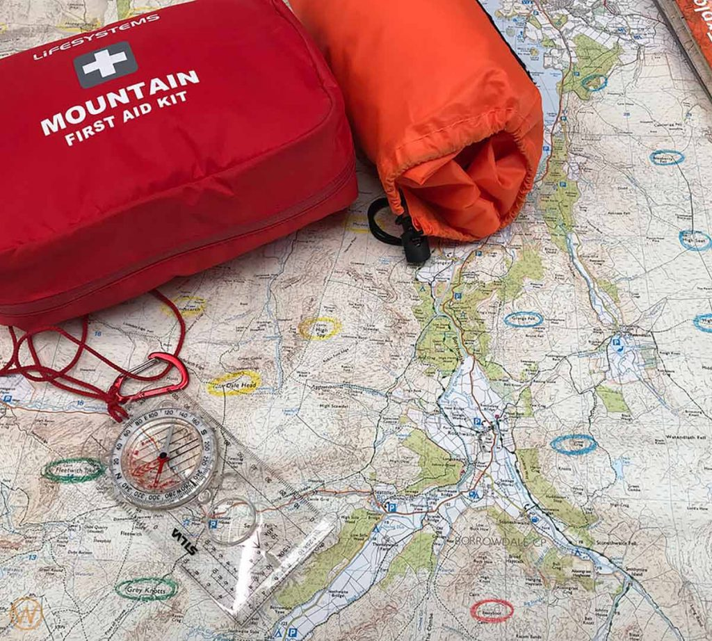 Navigation and map reading on Kinder Scout