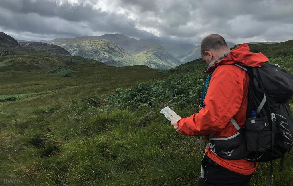 Navigation in the Lake District