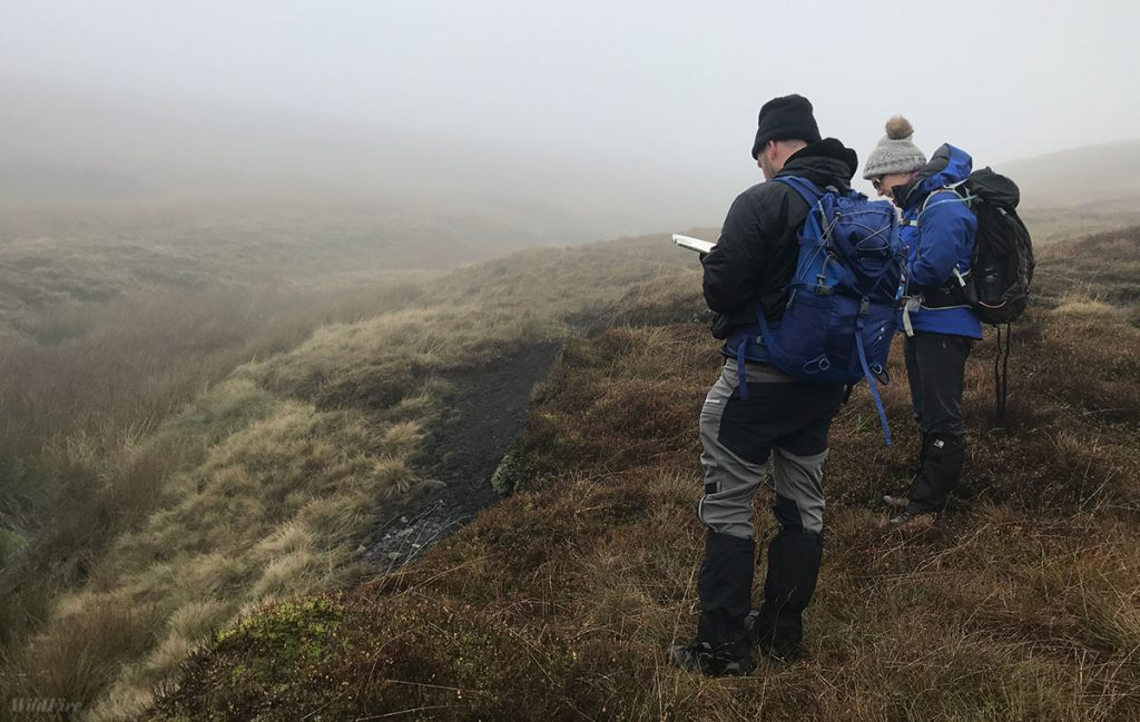 Navigation in the Peak District