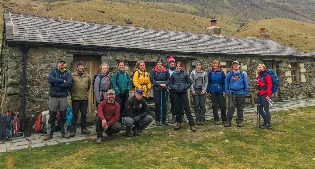 Black Sail Hut Spring Retreat in Ennerdale 2019