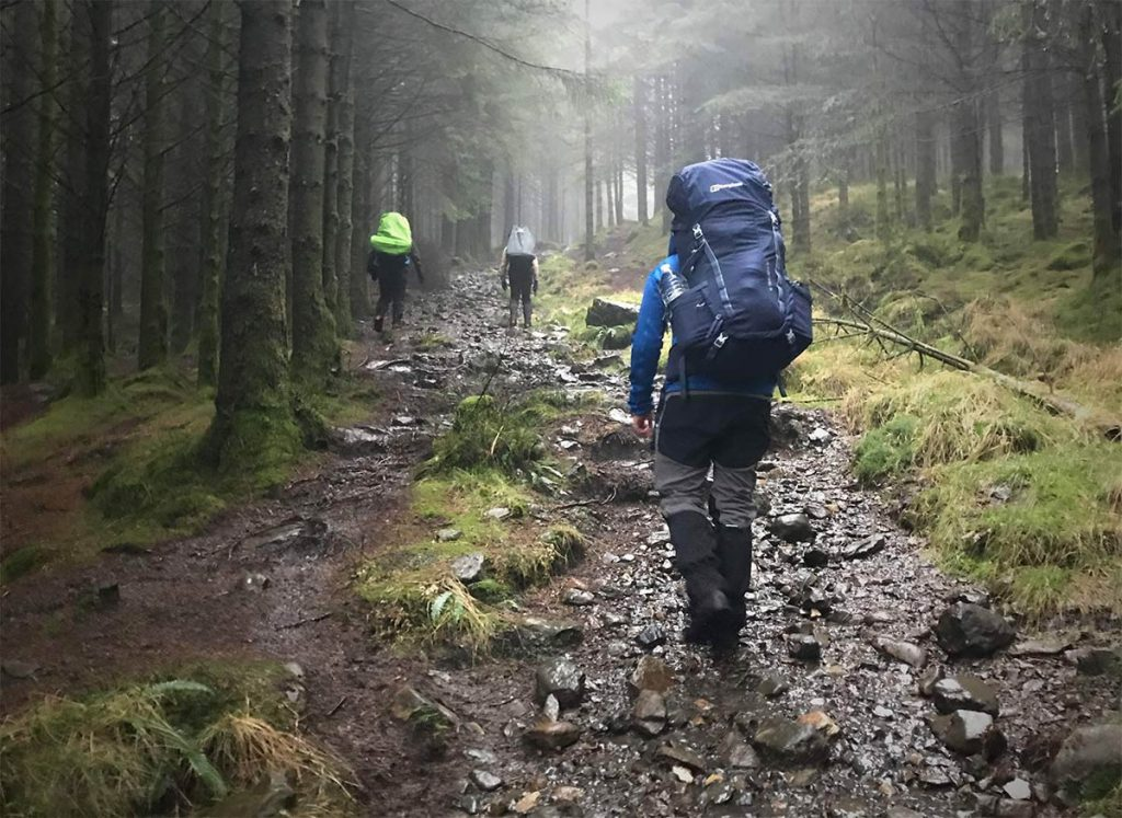 Expedition and wild camp in Scotland