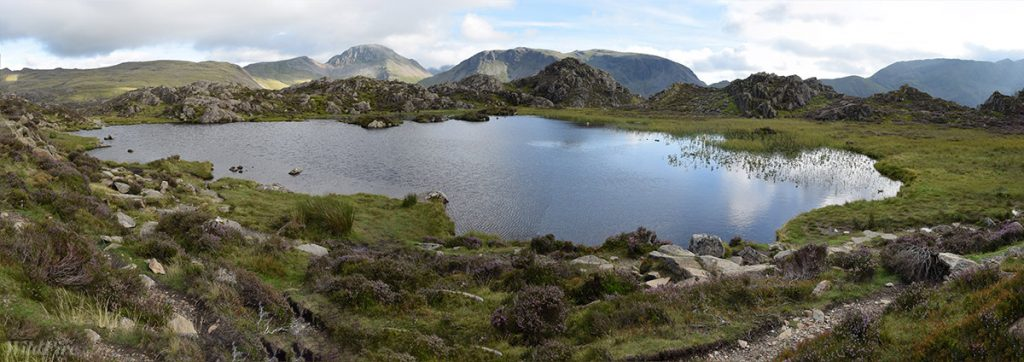 Innominate Tarn with Great Gable