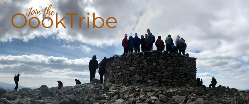OookTribe on Scafell Pike