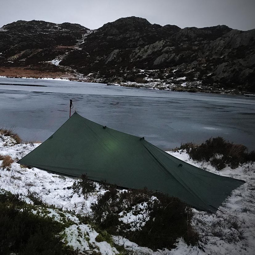 Innominate Tarn wild camp Haystacks