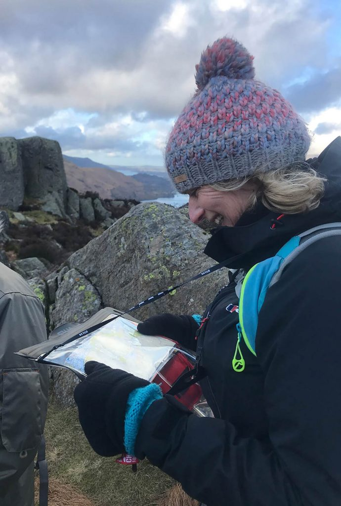 Navigation and map reading in the Lake District