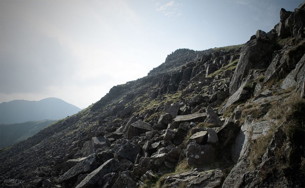 Grey Crag High Stile from Buttermere