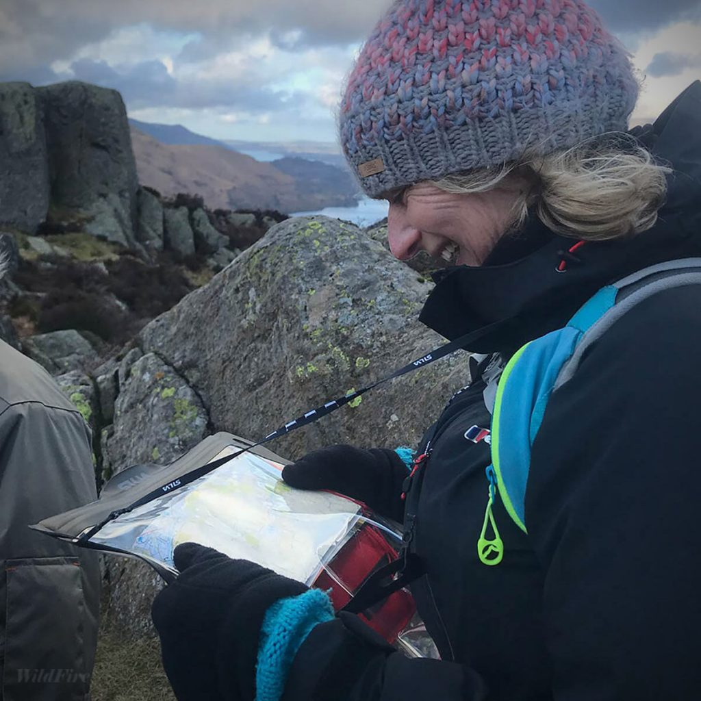 Navigation and map reading course in the Lake District
