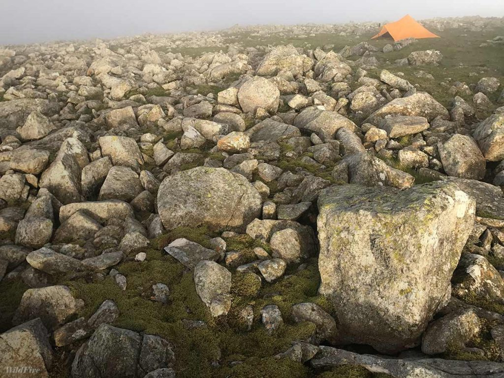 Wild camping on Scoat Fell along the Netherbeck Round