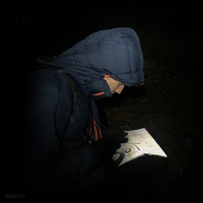 Night navigation in the Lake District