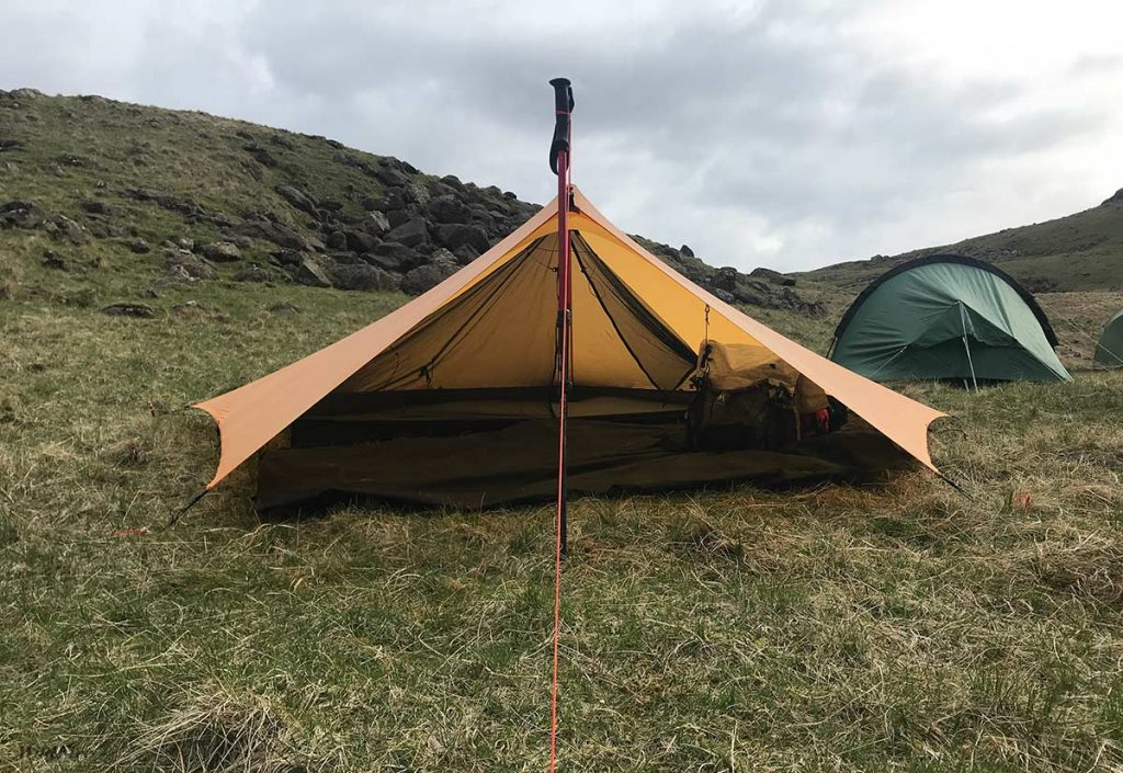 Trailstar with OookWorks Nest