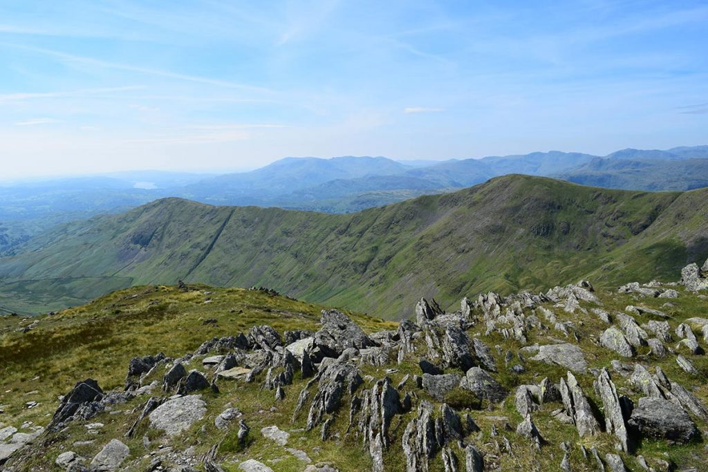 Coniston Water from the Fairfield Horseshoe
