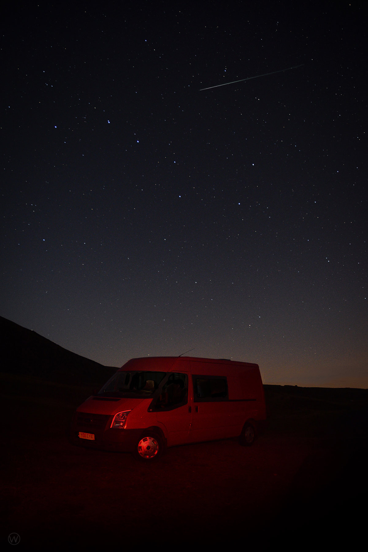 Lyrid Meteor Shower from the Lake District
