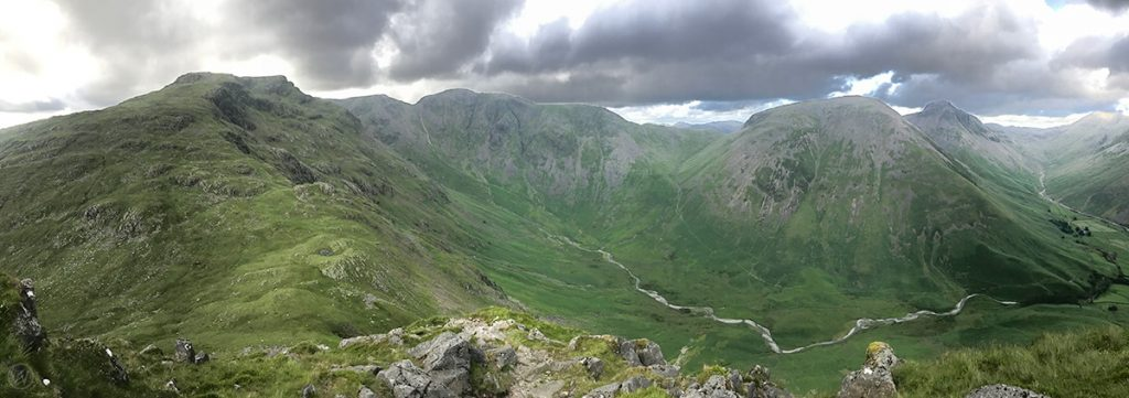 Pillar, Kirk Fell and Great Gable from Dore Head