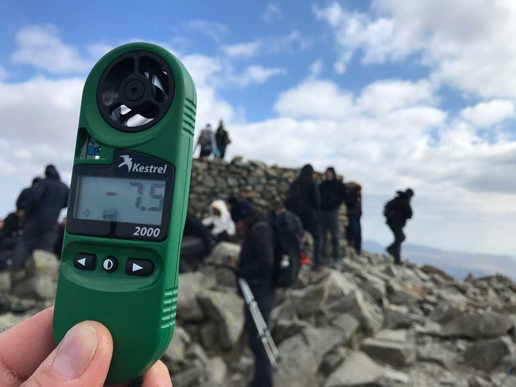 Scafell Pike weather