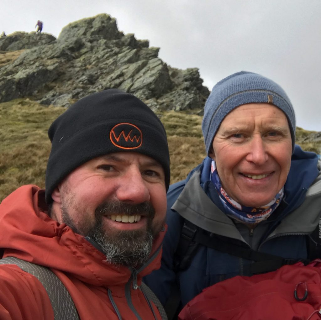 Sharp Edge Blencathra with Alan Hinkes