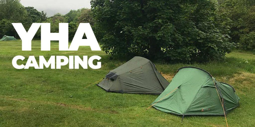 Camping at the YHA Patterdale