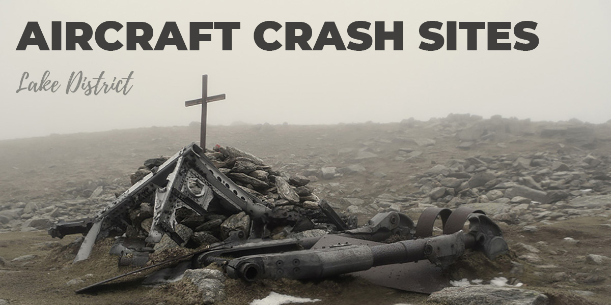 Aircraft crash sites Lake District