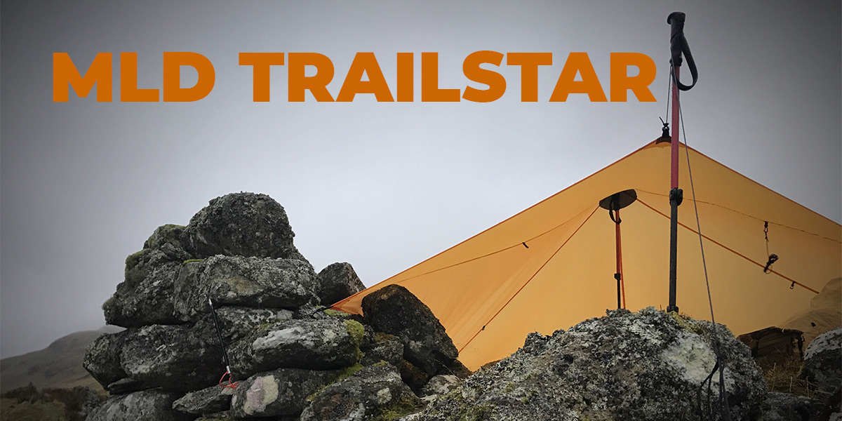 MLD Trailstar on the side of Ben Lawers