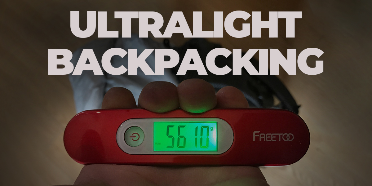 Ultralight backpacking cover