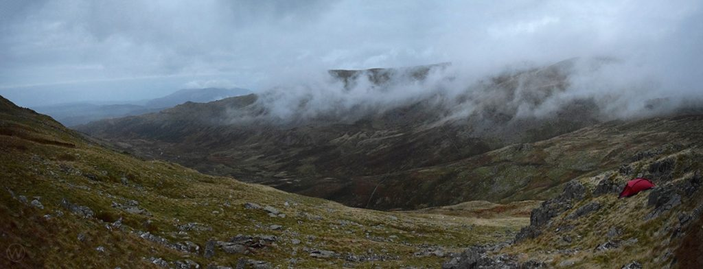 Wild camping on Red Screes