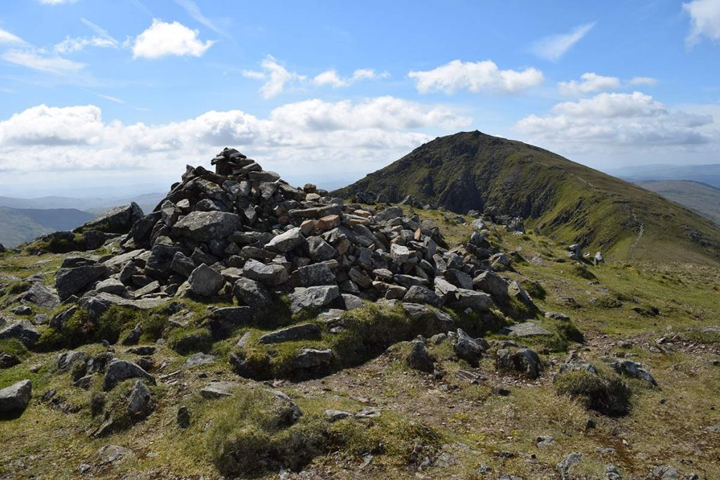 Froswick summit cairns