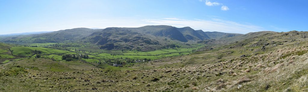 Kentmere Horseshoe from Wray Crag