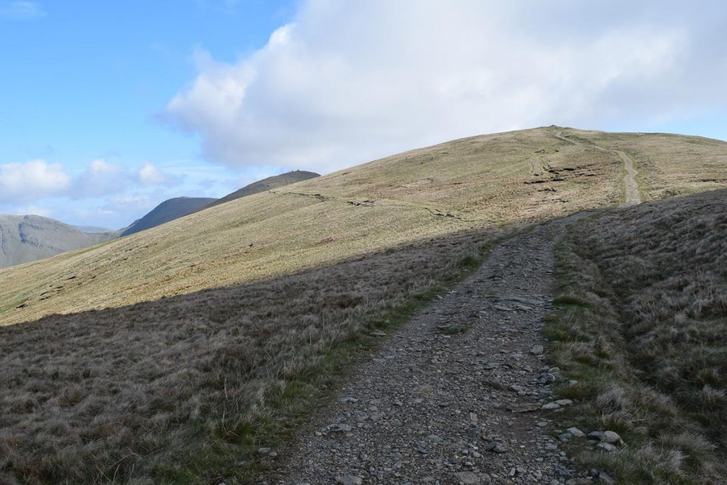 The ascent of Yoke from Kentmere