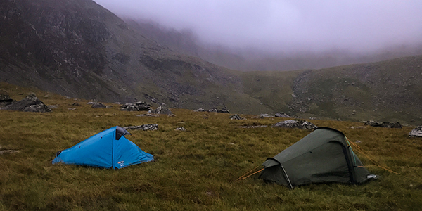 Wild Camping in the Snowdonia