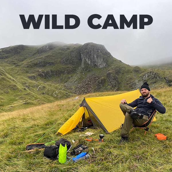 Wild Camping in Dovedale
