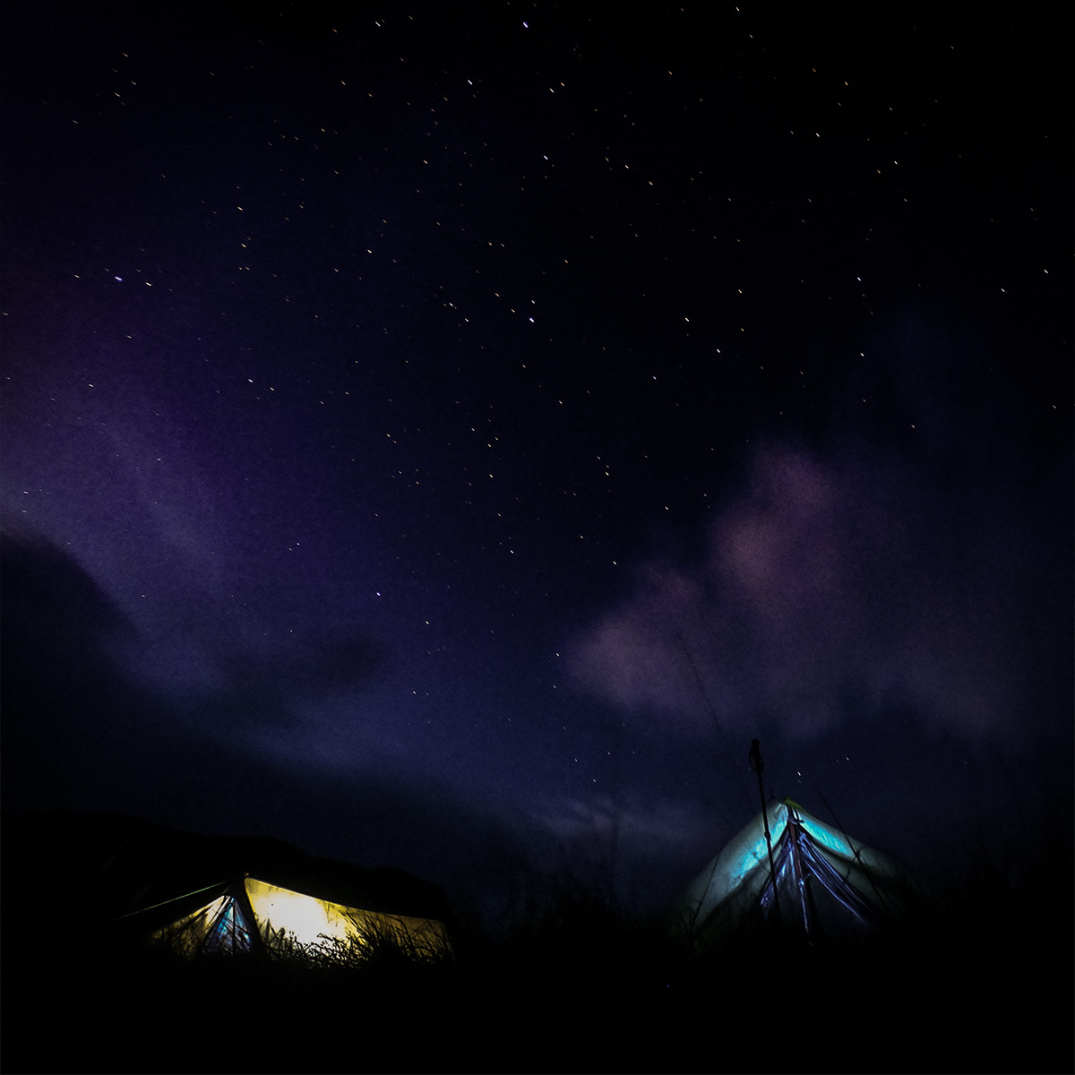 Wild Camping in Dovedale - Night