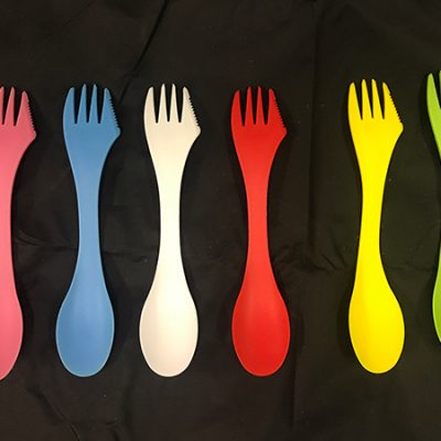 Range of spork colours