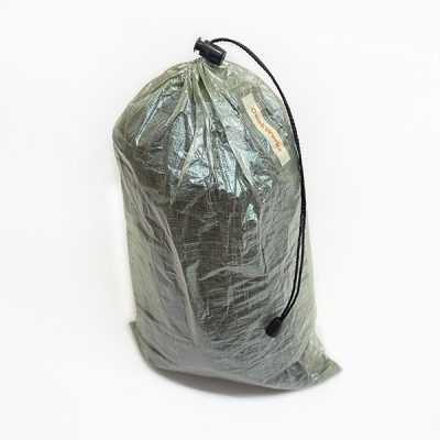 7 gram Oooklight Stuff Sack made from Dyneema Composite Fabric (Cuben Fiber)