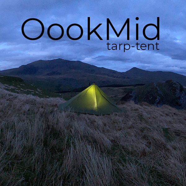 The OookMid tarp-tent cover